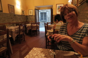Trattoria Dardano - a beautiful restaurant in Cortona