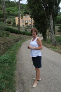 "Gerda at Bramasole from the movie ""Under the Tuscan Sun"""