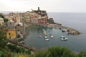 Vernazza from .5km into trail