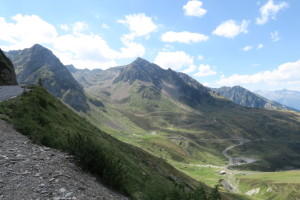 Near the top of Tourmalet