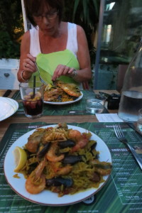 Gerda with Paella Maison
