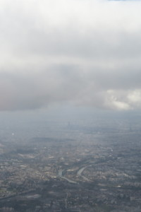 Paris through the clouds